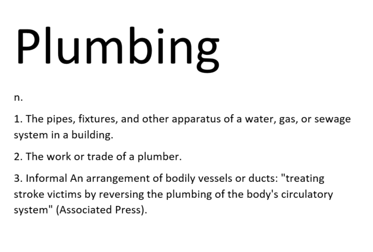 plumbing definition